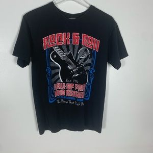 2013 unique Rock n Roll Hall of Fame tee